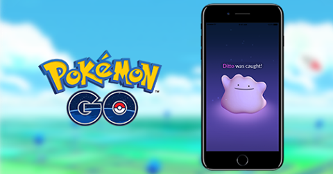 Ditto Launches on Pokemon Go