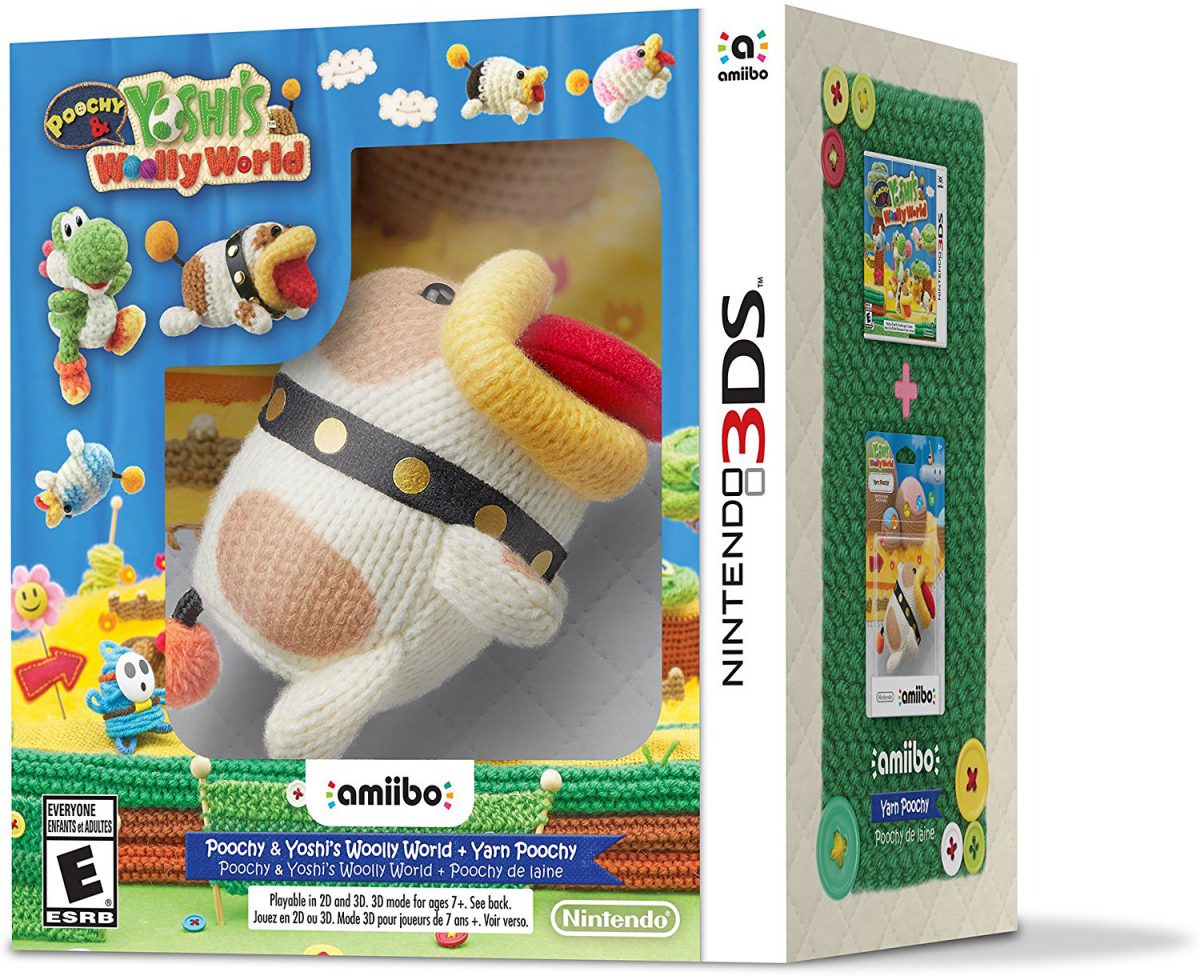 Poochy and Yoshi's Wooly World Coming To 3DS